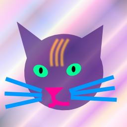 (my avatar is a purple cat face on a purplish pinkish gradient background)